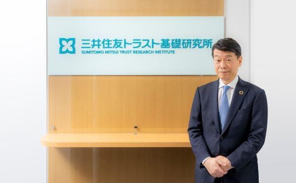 画像:株式会社三井住友トラスト基礎研究所 取締役社長 神戸 敏之